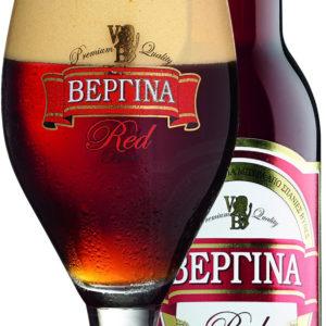 Vergina Red Bottle beer - Vergina Rød øl flaske 330 ml